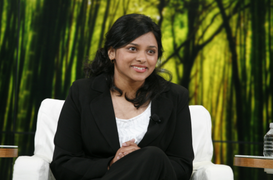 Shree Bose during an interview. (shreebose.com ())