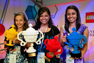 From left to right: Lauren, Shree and Naomi (http://www.google.com/intl/en/events/sciencefair/summary.html ())