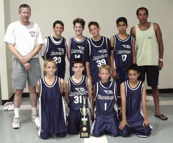 Ernie Wallengren with one of his many basketball teams<br>http://www.hoopsclub.com