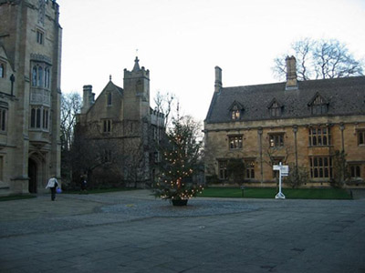 """Magdalen College"" at Oxford, photo courtesy of  Simon Ho"