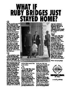 ruby bridges speech