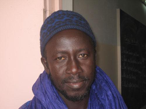 Cheikh Darou Seck, English teacher (Courtesy of Mr. Seck)