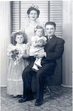 My great-grandmother and her family