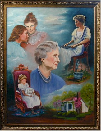 Helen keller paintings