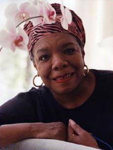 Maya Angelou (http://www.mayaangelou.com/AngelouColor.jpg)