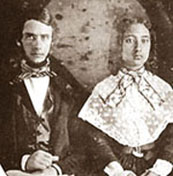 <a href=http://www.huapala.org/Wedding.jpg>Charles Reed Bishop & <br>Bernice Pauahi Bishop</a>