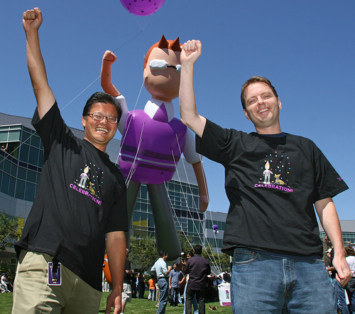 Yang and Filo launching new Yahoo! Mail (Yahoo! Images)