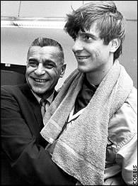 Pete with his dad Press. (https://espn.go.com/classic/biography/s/Maravich_Pete.html)