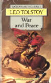 A copy of his book, War and Peace