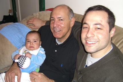 (left to right): My son, My Dad and I <br>(Picture taken in spring of 07)