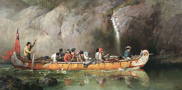 Voyageurs (canoemuseum.net)