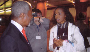 With Kofi Annan, former UN Secretary General (Courtesy of Oumoul Khary)
