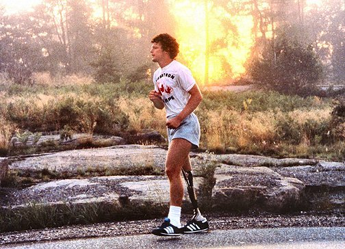 This is Terry Fox