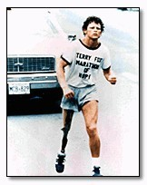Terry Fox Running (google)