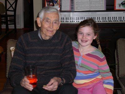 Papa and I (smile at the camera!)