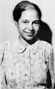 Rosa Parks in 1964 (Wikipedia)