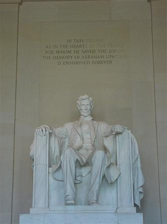 Abraham Lincoln Memorial  in Washington D.C.