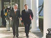 Al Gore and Bill Clinton (Wikipedia)
