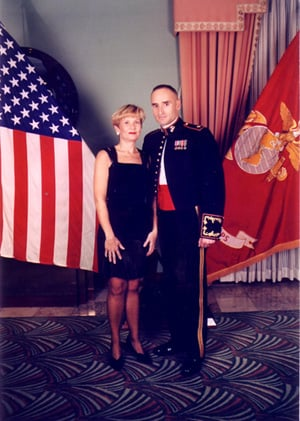 Stu and Sherrie at the Marine Corps Ball (Personal album)
