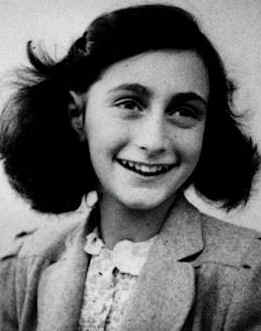Anne at age 13 (http://www.brownsteins.net/Ulpan/Images/Anne%20Frank.jpg)