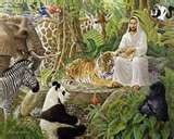 Jesus in jungle with animals (http://www.natureartists.com/art/resized/1197_Toledo_Jesus_and_animals_copy.jpg)