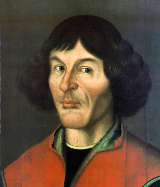 A painting of Nicholas Copernicus <br>(http://en.wikipedia.org/wiki/Nicolaus_Copernicus)