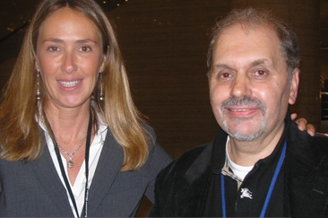 Giuseppe and Italian Minister of the Environment Prestigiacomo