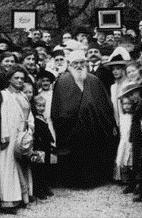 `Abdu'l-Bahá in Germany, 1913. (http://info.bahai.org/article-1-3-0-4.html)