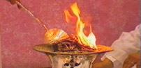 Brazier with flame for Zoroastrian practices. (http://www.bbc.co.uk/religion/religions/zoroastrian/index.shtml)