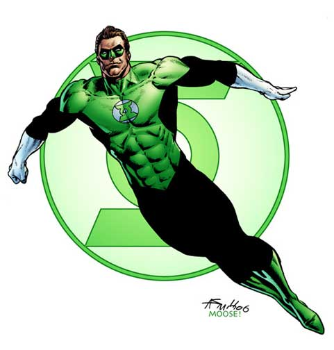 "Super Hero Comic Book Infinite Heroes Figure 3-4"" DC Green ... 