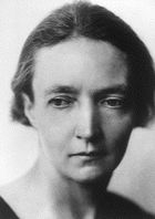 Irene Curie photo from www.nobelprize.org