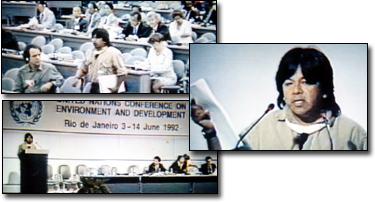 Marcos Terena, Brazil (http://www.dialoguebetweennations.com/IR/english/KariOcaKimberley/KO_UNCED.html)