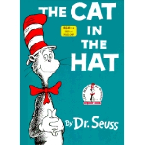 Dr. Seuss wrote this best-selling children's book. (http://www.everypicture.com/shop/books/<br>17f0833bb6a81d370177057f85f68871/cat-in-the-hat.jpg)
