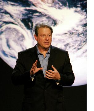 Al Gore in his film 'An Inconvenient Truth' (http://www.duh.de/uploads/media/<br>Al_Gore_rgb_Ausschnitt_-_image_net.jpg)