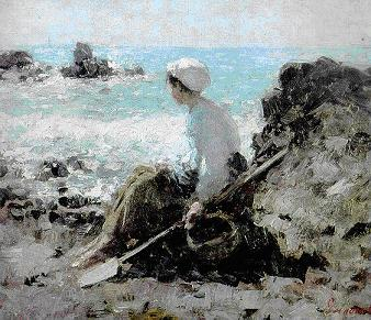 Fisherwoman at Grandville