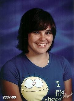 Abbi! (This is her most recent school pic. (As of the time i wrote this))