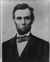 A picture of Abraham Lincoln  (Uploaded on August 8, 2007 By e-strategyblog.com)