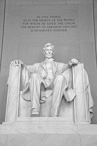 Abraham Lincoln is still a hero (Flickr.com)
