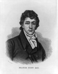 Francis Key (https://en.wikipedia.org/wiki/Francis_Scott_Key)