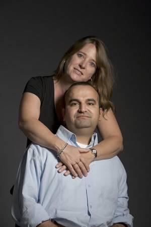 Babak (Bobby) Darvish and his lovely wife, Sandra (hibm.org)