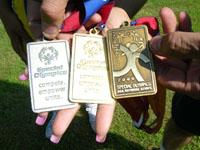 Dave & Migdalia's Special Olympics Medals (KEC)