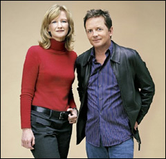 Michael J. Fox & Debi Brooks (Courtesy of the Michael J. Fox Foundation, photo by Mark Seliger)
