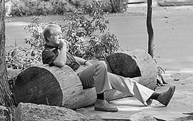 Jimmy Carter at Camp David (Jimmy Carter Library & Museum)