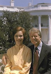 President Carter and his wife, Rosalynn (Jimmy Carter Library & Museum)