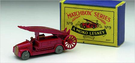 A Matchbox car (Mattel)