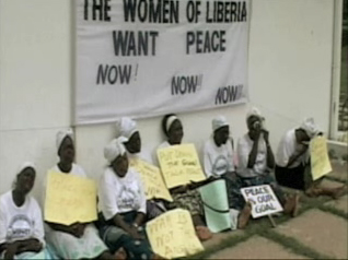 Women in Peace Building demonstration (www.praythedevilbacktohell.com)