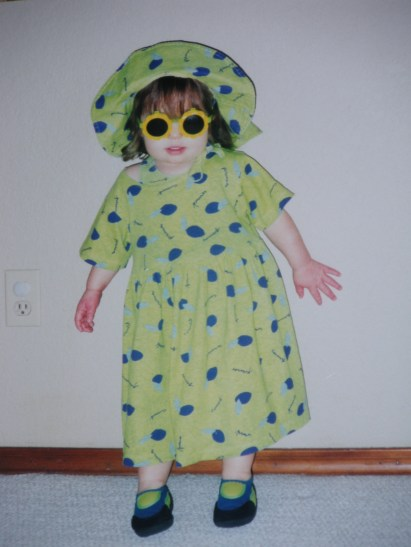 Abby as a preschooler