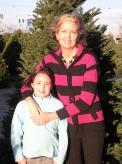 Abby and her mom Lucinda Roush