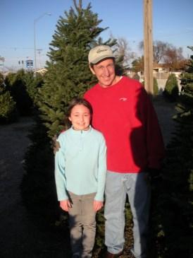 Abby and her dad Matt Roush