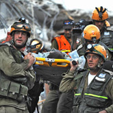 Israeli rescue workers (timesonline.com)